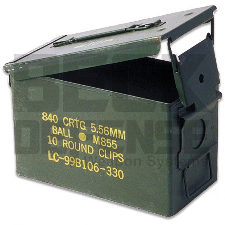 .50 Cal AMMO CAN