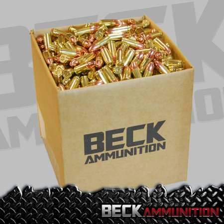 9mm 115gr FMJ  1,000 Rds Bulk Packed