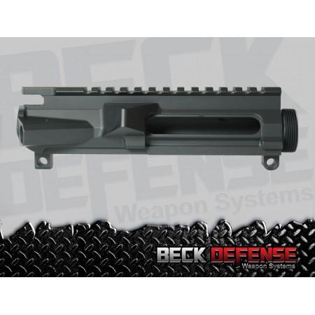 BECK DEFENSE STRIPPED UPPER RECEIVER----BILLET----