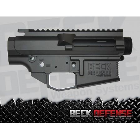BECK DEFENSE STRIPPED UPPER/LOWER RECEIVER SET ---BILLET---.308