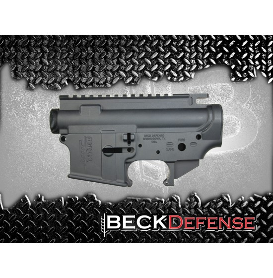 receiver sets : beck defense stripped upper/lower receiver set