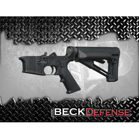 BECK DEFENSE COMPLETE LOWER RECEIVER----FORGED----