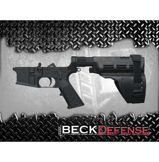 LOWER RECEIVERS : BECK DEFENSE COMPLETE LOWER