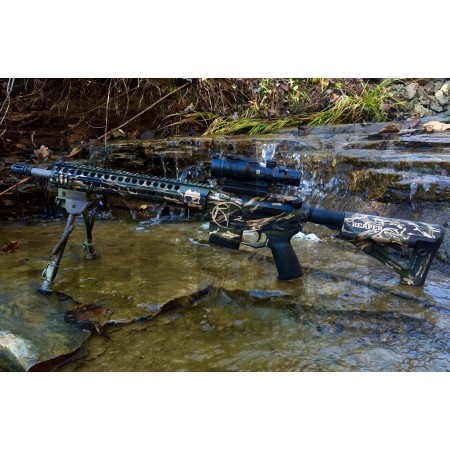 "BECK DEFENSE M4-C 300 BLACKOUT  RIFLE---REAPER EDITION---16"" BARREL"