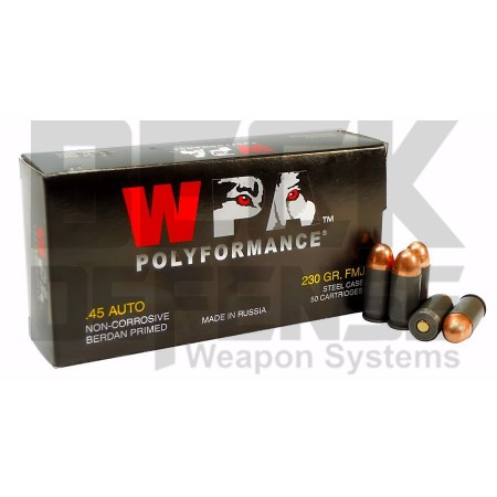 WOLF .45 AUTO  230GR FMJ